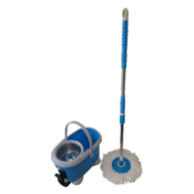 Turbo Mop Pro Deluxe avec double centrifugeuse