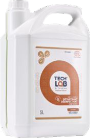 DETERGENT DESINFECTANT SOLS ET SURFACES TECH'LAB 5L
