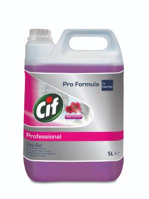 DETERGENT MULTI-USAGES CIF OXY-GEL ORCHIDEE PRO FORMULA 5L